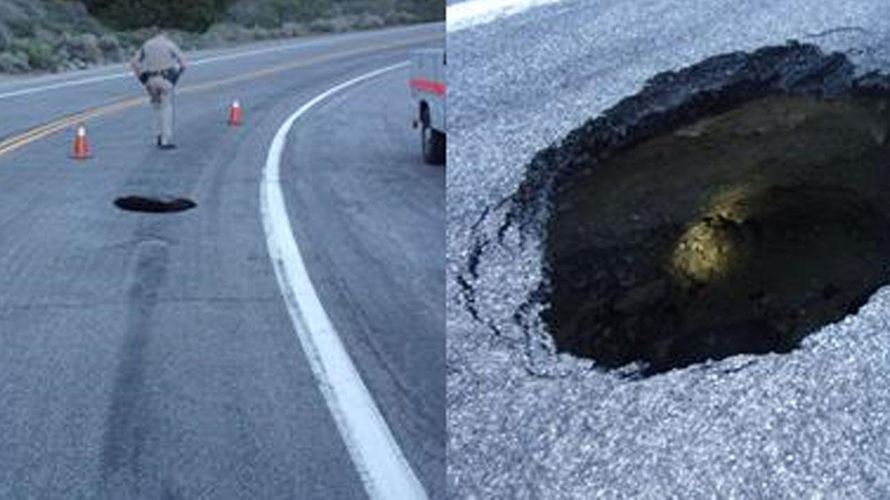 Caltrans has closed a popular highway with outdoors enthusiasts due to a growing sinkhole.