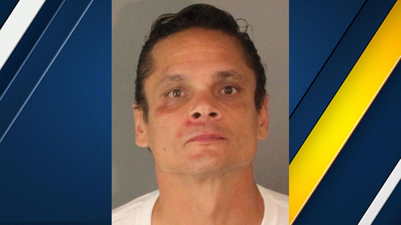 Angel Joseph Garcia, 46, of Riverside, is a suspect in the attempted sexual assault of an 82-year-old woman.