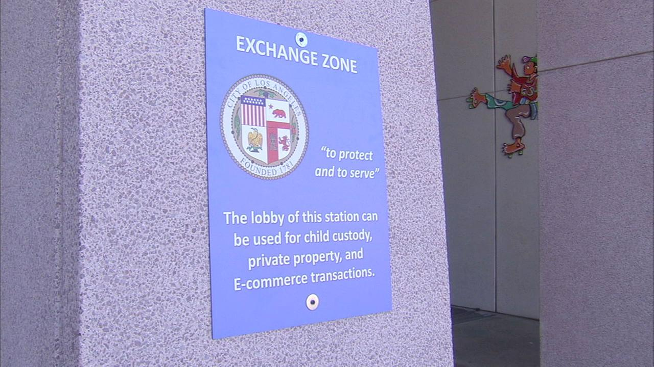 LAPD is setting up safe zones inside police stations for online buyers and sellers to safely conduct transactions.