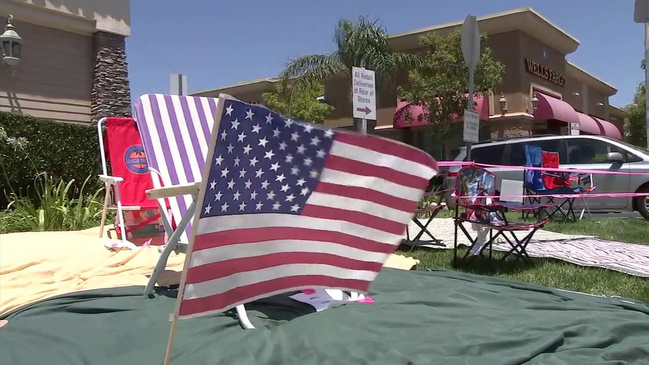 For the Porter Ranch community, this years July Fourth celebration was about helping them recover from the gas leak which forced thousands from their homes.