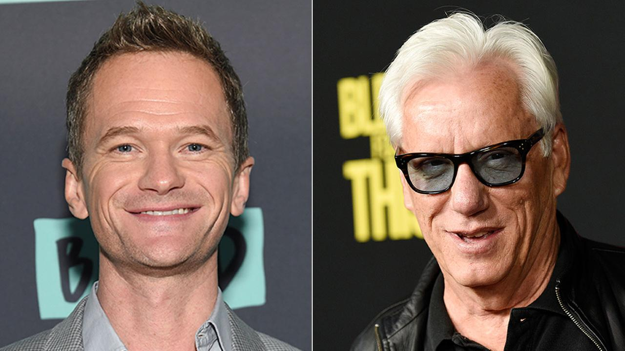 Actors Neil Patrick Harris (left) and James Woods engaged in a Twitter feud over an Orange County familys picture of their son at a gay-pride parade.