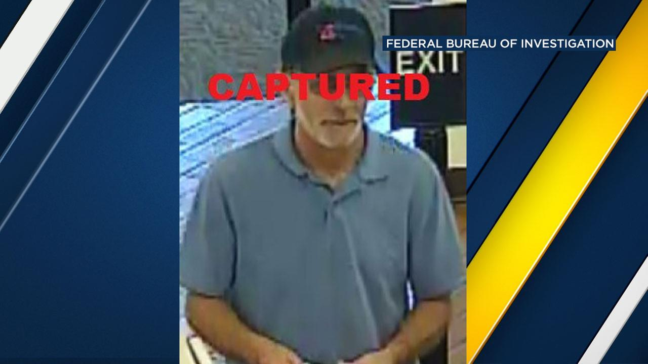 Steven Barry Reisman, 59, was charged with bank robbery.