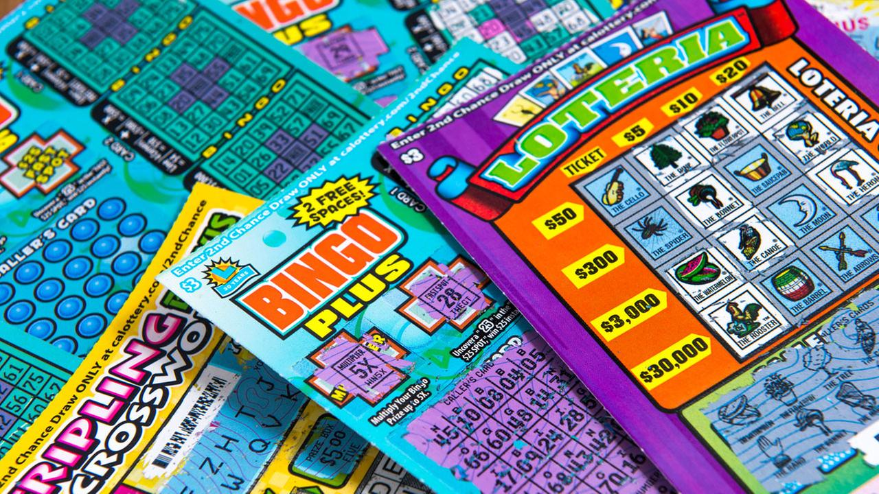 Scratchers tickets are shown in a file photo.