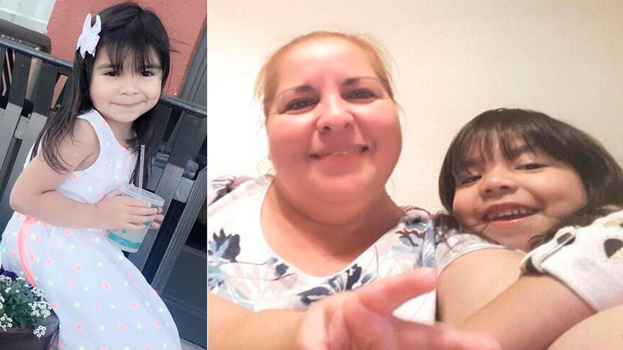 Luz Maria Garza-Ramones, 51, is seen with her 5-year-old granddaughter, Aleysha Martinez-Ruiz, in a photo provided by authorities.