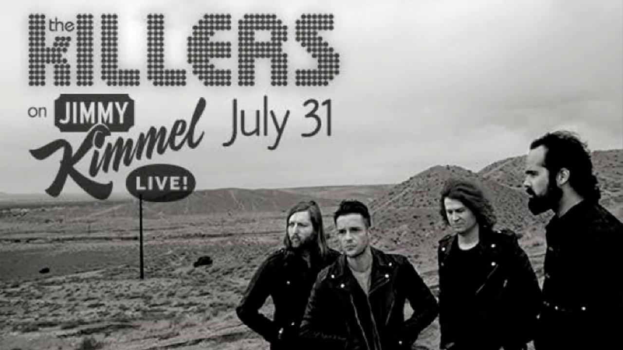 "The Killers to perform on ""Jimmy Kimmel Live!"""
