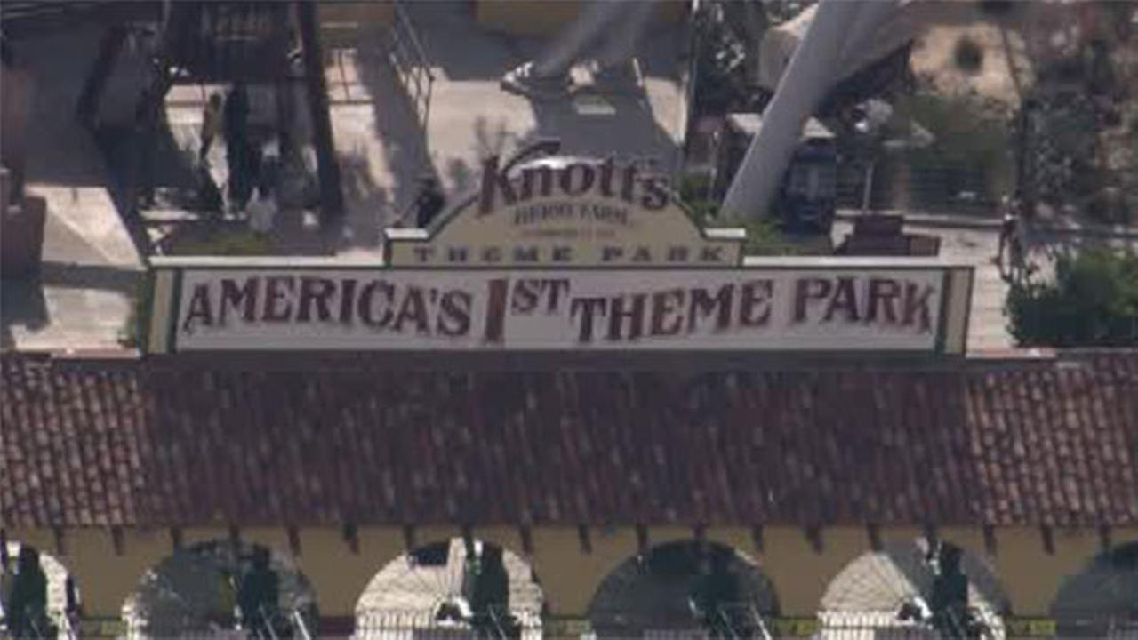 An undated file image of Knotts Berry Farm.