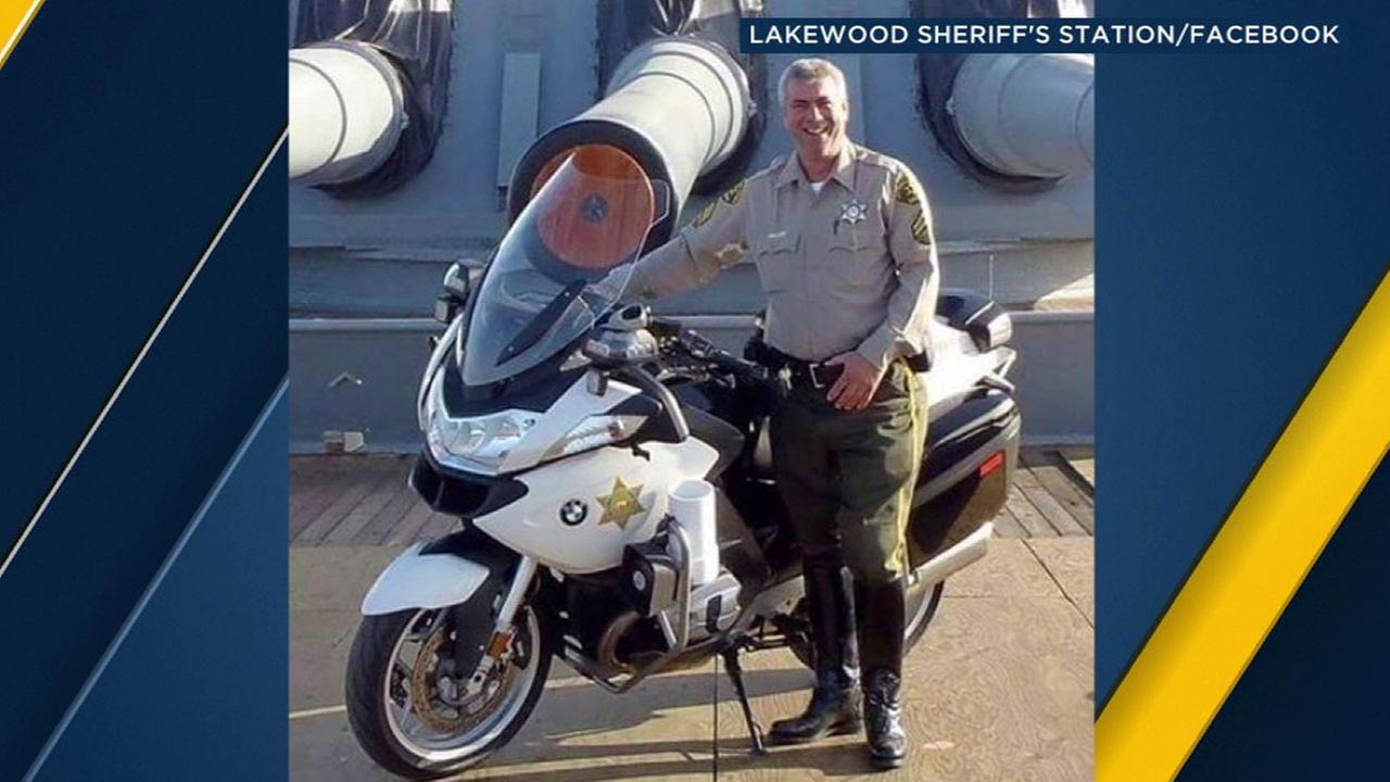 Los Angeles County sheriffs deputy Michael Haak.