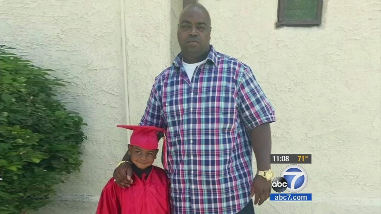Calvin Gray, a civilian employee of the L.A. County Sheriffs Department was gunned down in a car-to-car shooting in Vermont Knolls Tuesday, July 29, 2014.