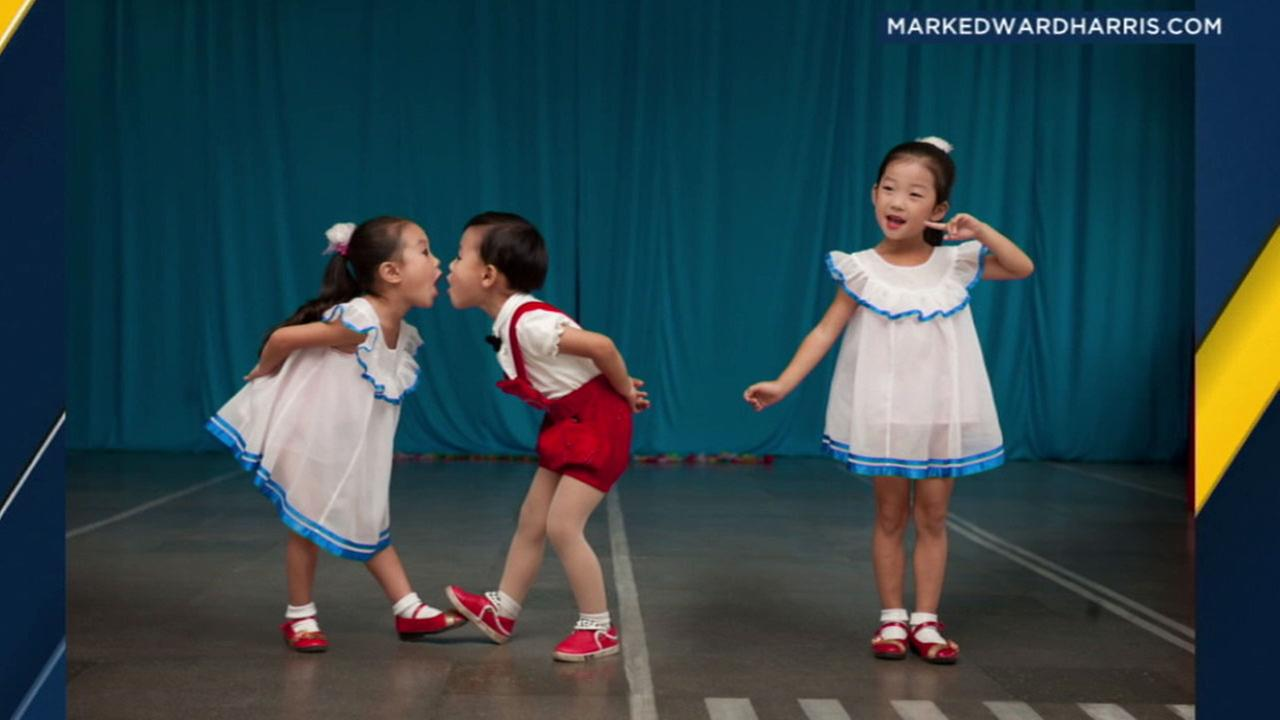 Photographer Mark Harris has captured a unique glimpse of life in North Korea in 10 trips he has made to the country since 2005.