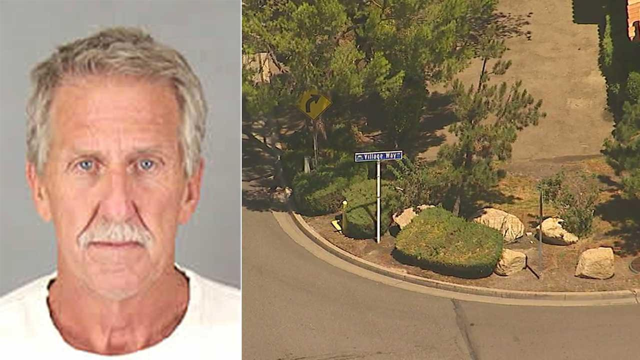 Scott Sempson, 61, is seen in a booking photo.