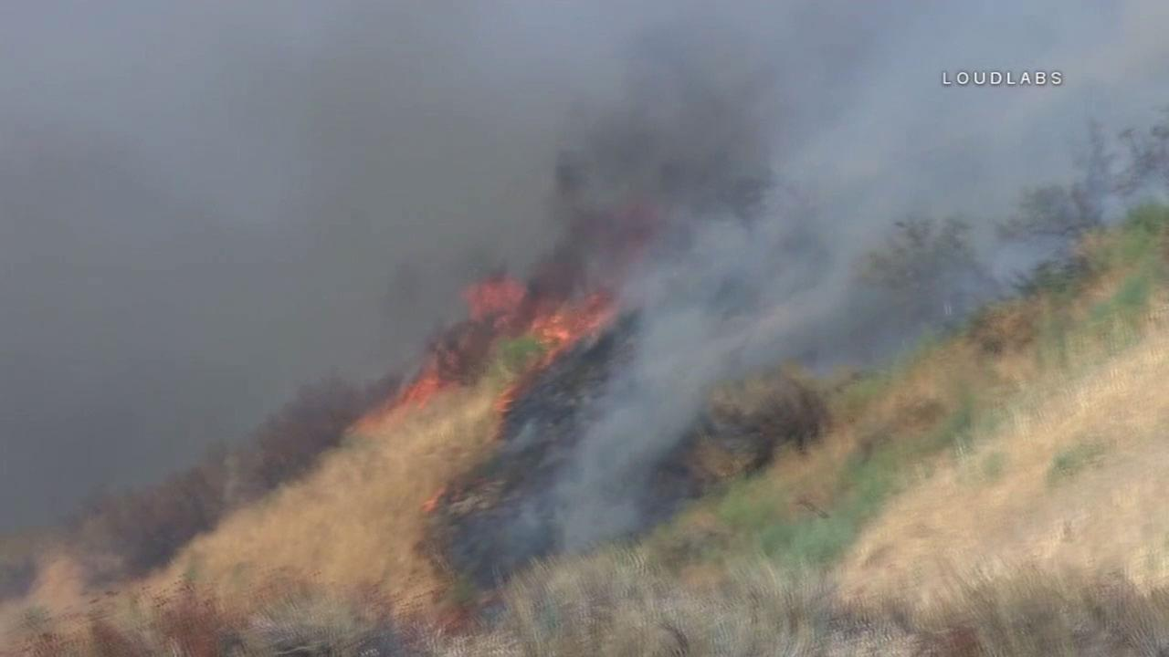 The Palmer Fire in the Redlands area has burned more than 500 acres and is forcing mandatory evacuations on Saturday, Sept. 2, 2017.