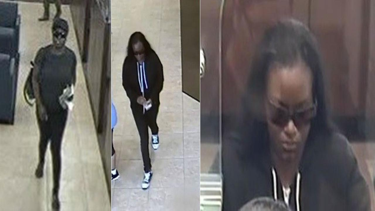 Surveillance images show a bank robbery suspect nicknamed The South Bay Bandit.