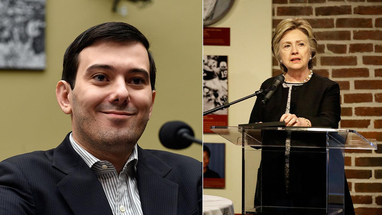 Former pharmaceutical CEO Martin Shkreli had his bail revoked in his fraud case after he offered $5,000 for a Hillary Clinton hair.