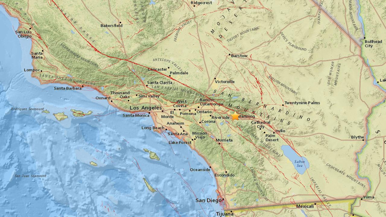 An earthquake with a preliminary magnitude of 3.2 has struck near Beaumont on Friday, Sept. 15, 2017.