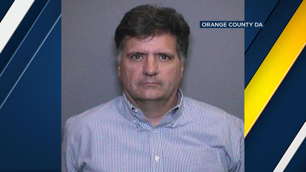 Glen Thomas Kauffman, 53, of Laguna Niguel is accused of committing lewd acts on minors.
