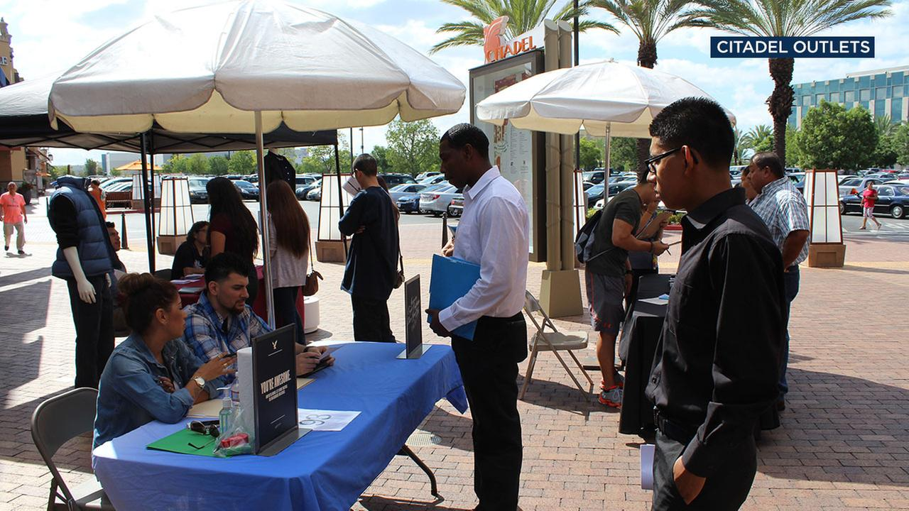 More than 1,000 jobs will be available for hiring at the Citadel Outlets 9th Annual Community Job Fair on Wednesday, Oct. 11, 2017.