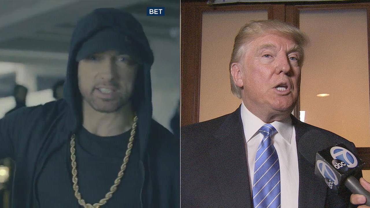 The Storm, a new freestyle rap from Eminem, takes on President Donald Trump.