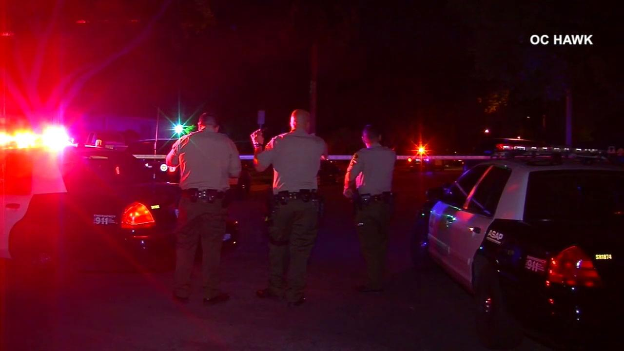 The Los Angeles County Sheriffs Department is investigating the shooting death of two men in La Puente.