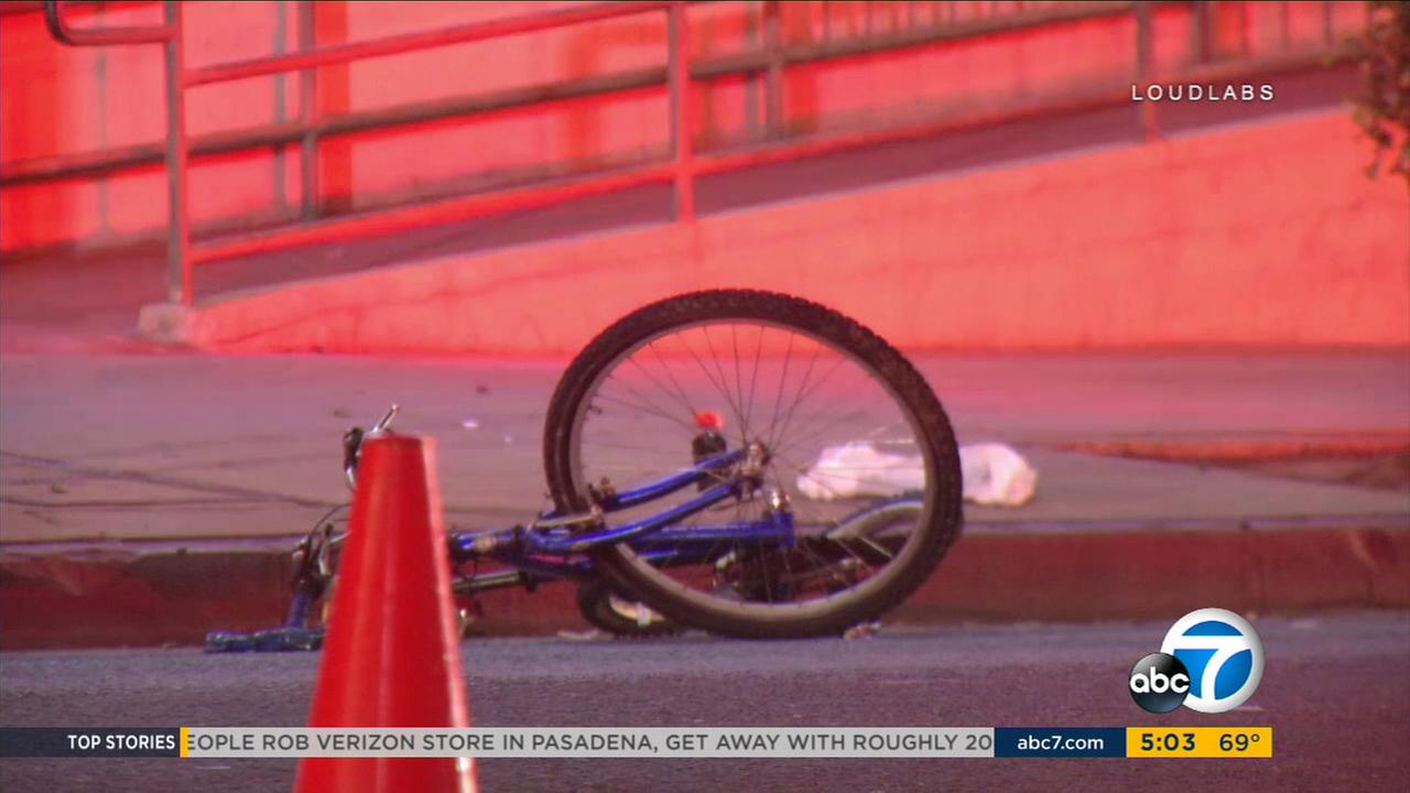 A suspected DUI driver was arrested after a man on a bicycle was struck and killed early Wednesday morning in Koreatown, authorities said.