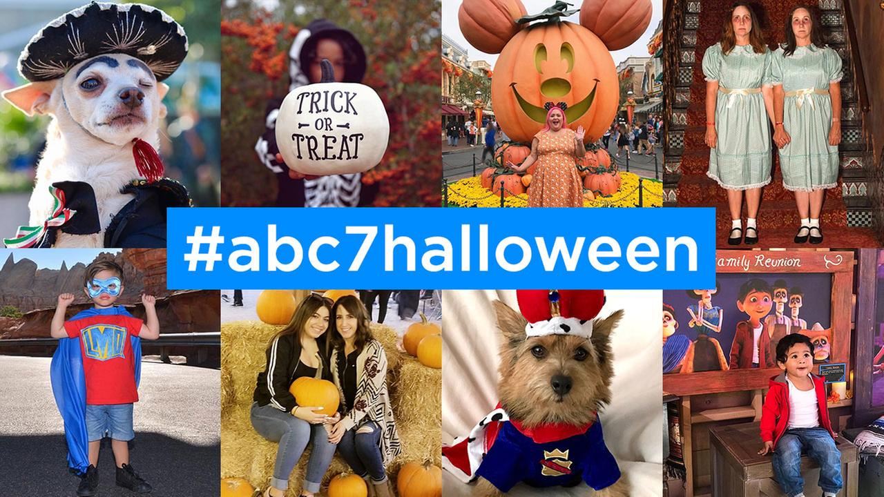 ABC7 viewers share their Halloween costumes