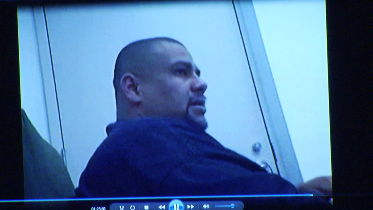 Isauro Aguirre, accused of torturing and murdering Gabriel Fernandez, is seen in recorded interviews played in court on Tuesday, Oct. 31, 2017.