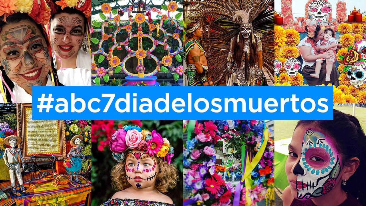 Dia de los Muertos brings colorful scenes to SoCal