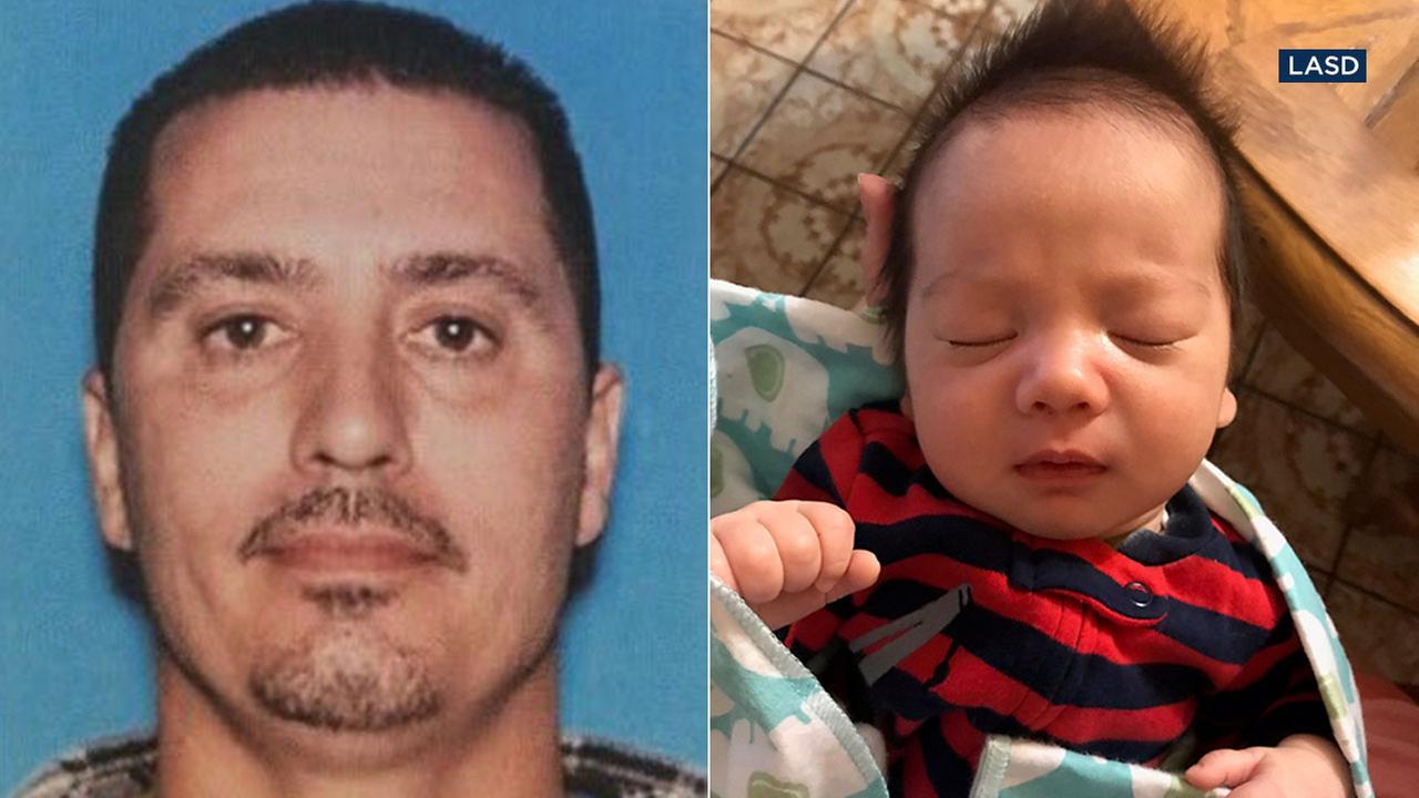 Authorities are looking for Jeffrey Michael Gomes, 42, in the abduction of his infant son, Jefferson Gomes, from the Fort Tejon area on Friday, Nov. 3, 2017.