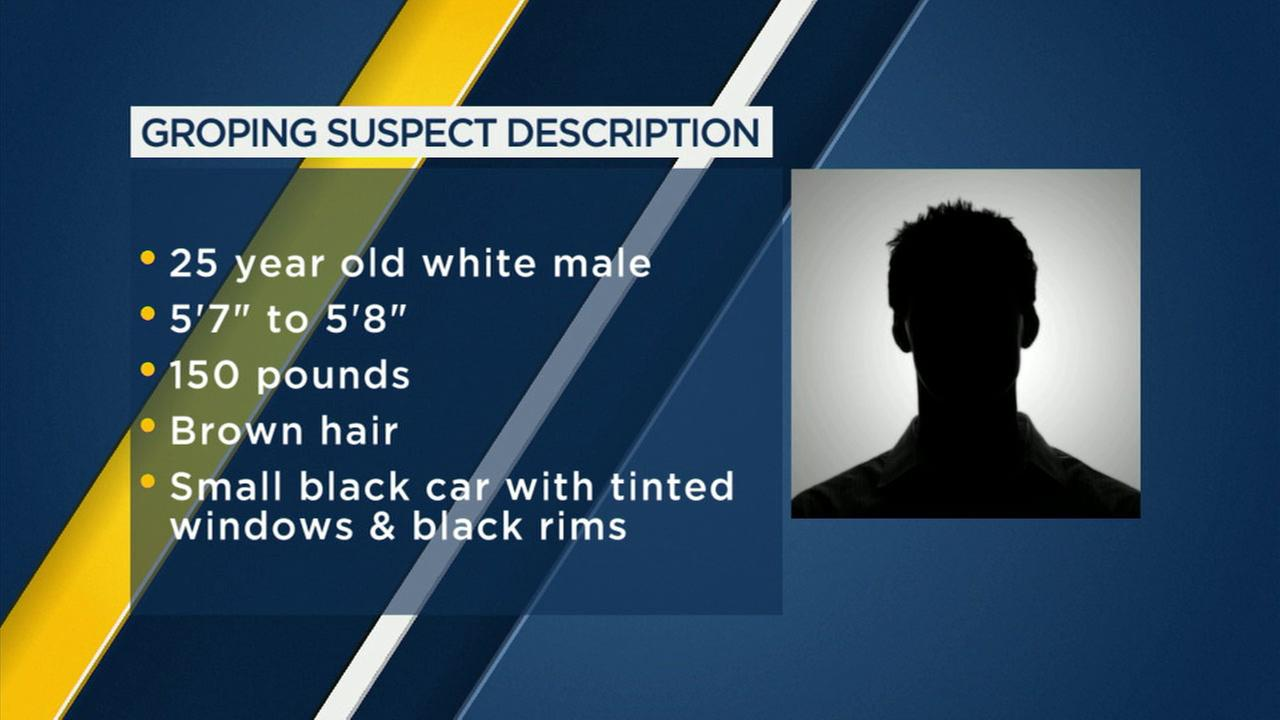 Police are looking for a man who groped a young girl in Huntington Beach.