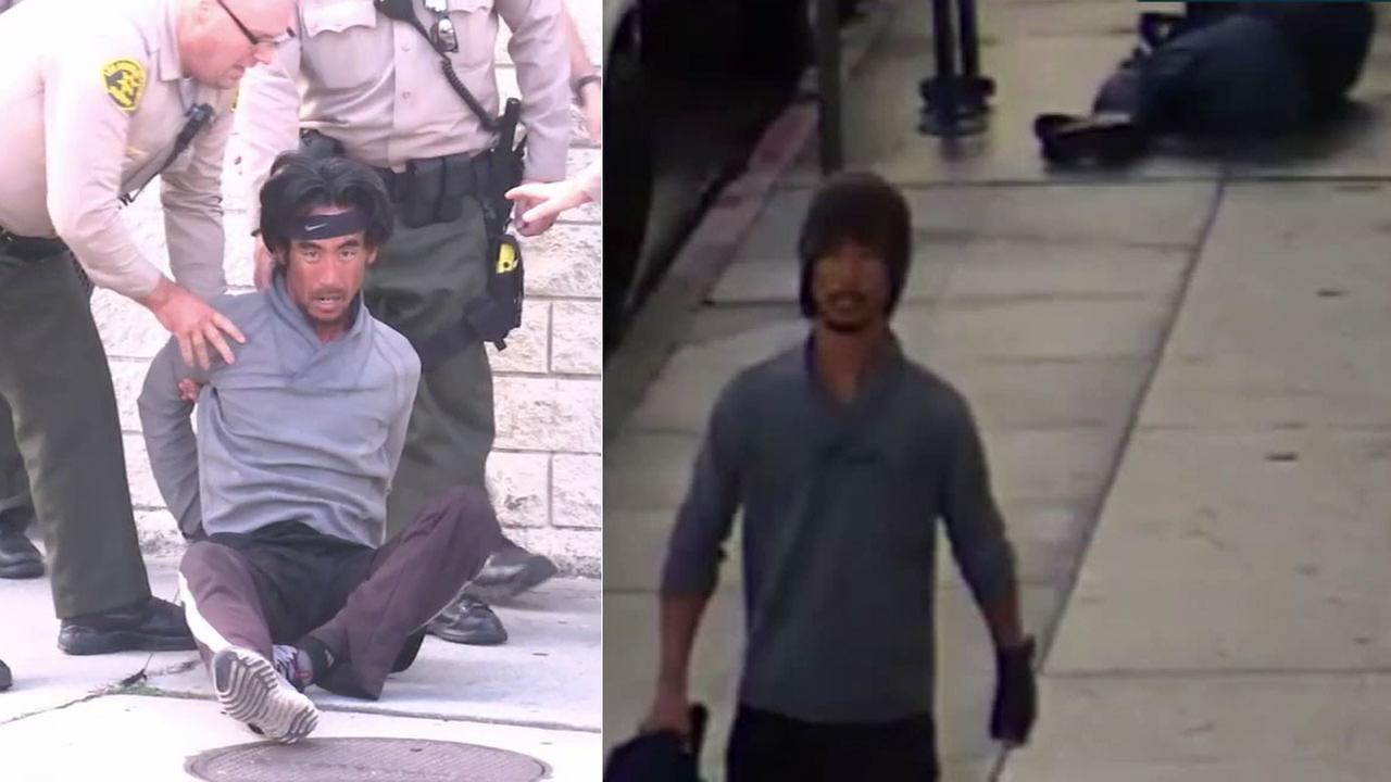 Dale Shoner, 43, has been identified as the suspect in a random attack on an elderly man in Hollywood on Oct. 20, 2017.