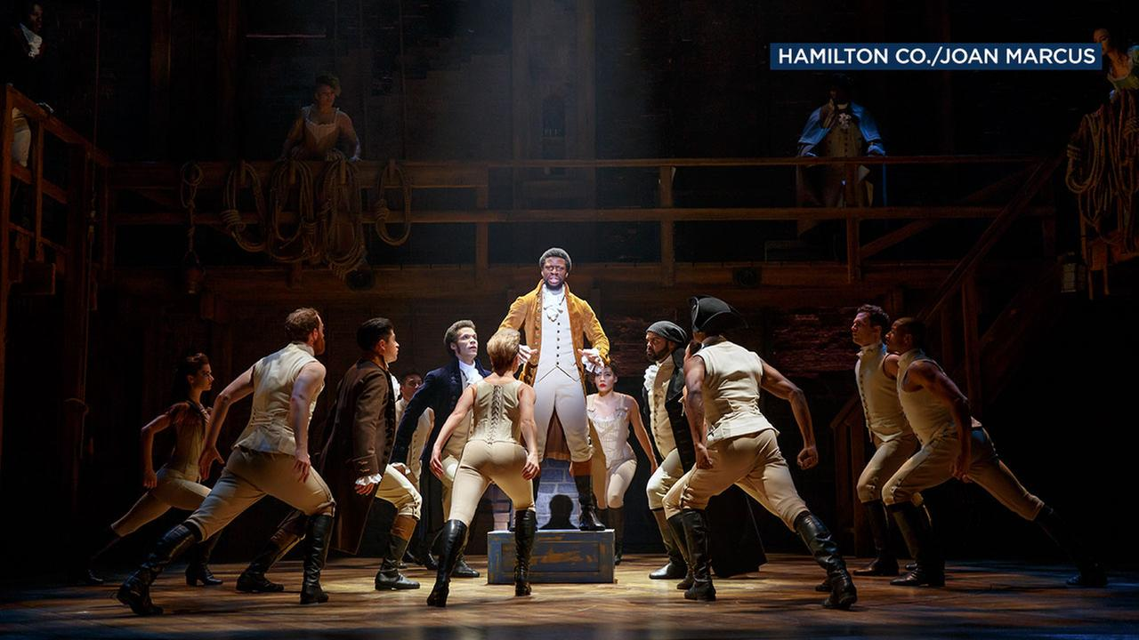 The musical Hamilton tells the story of founding father Alexander Hamilton with a modern score.