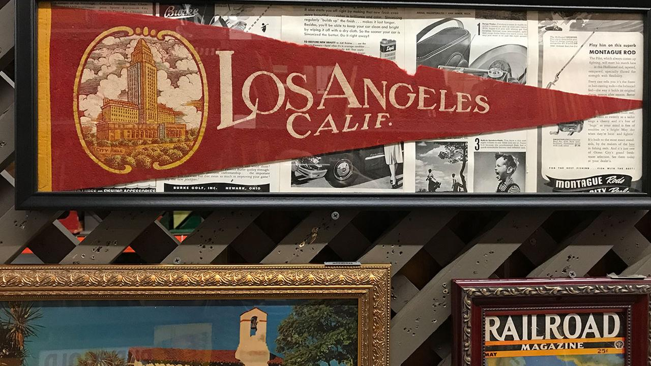 The company released photos of the memorabilia that will line the eaterys walls, noting that all of the knick-knacks are from California companies.