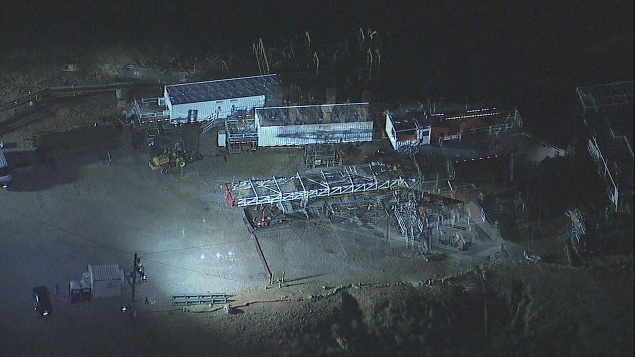 A new gas leak was reported Monday night at the Southern California Gas facility near Porter Ranch.