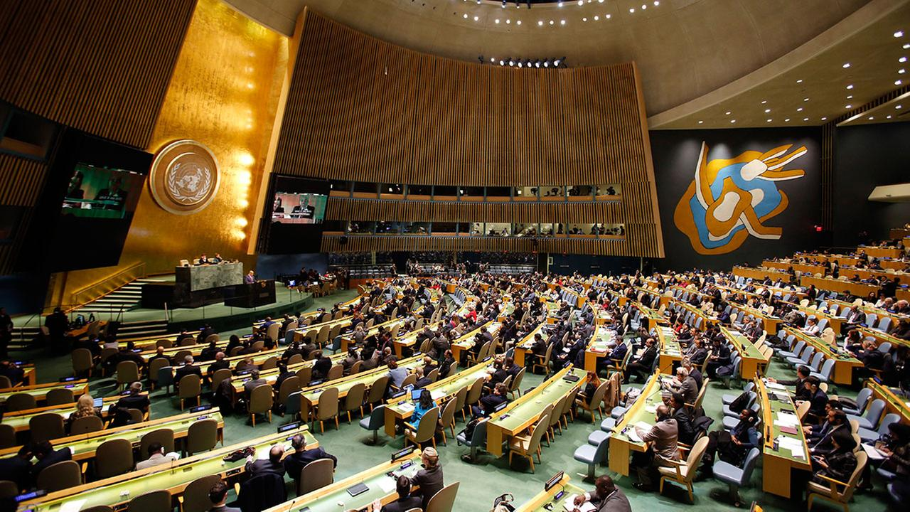 Delegates to the United Nations voted overwhelmingly to denounce President Donald Trumps recognition of Jerusalem as Israels capital on Thursday, Dec. 21, 2017.