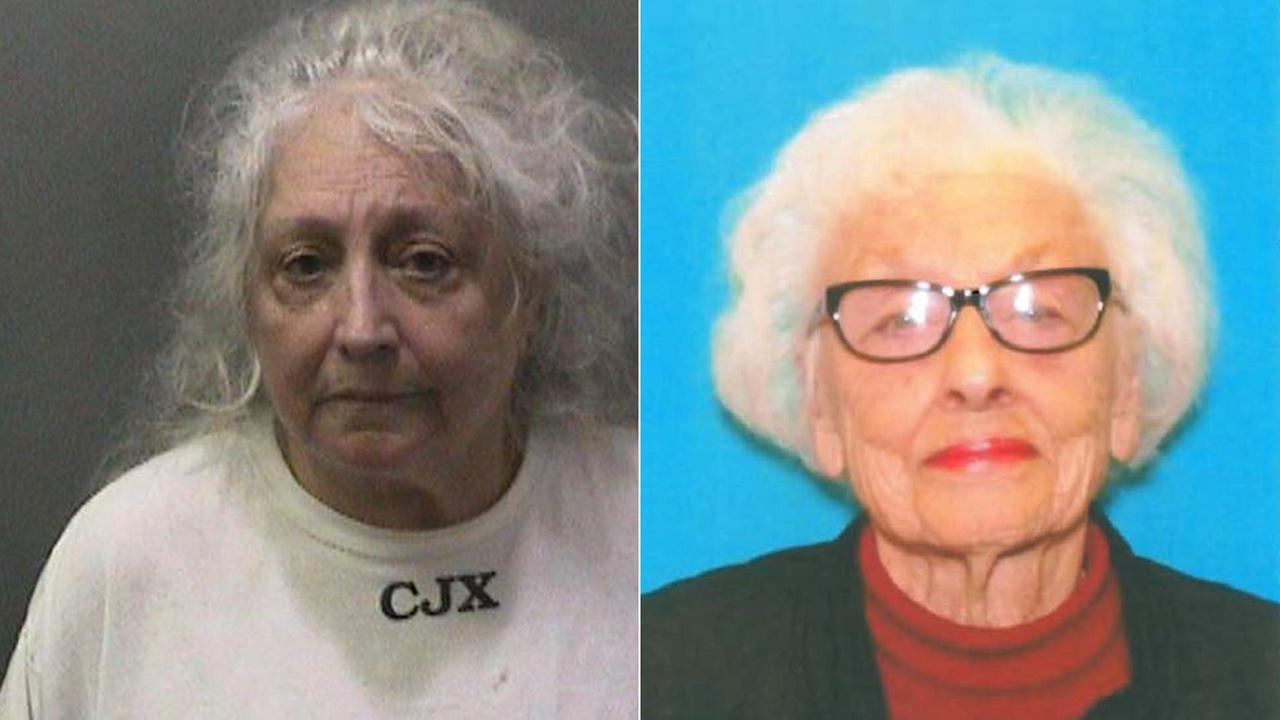 (Left) Christine Reynolds is seen in a booking photo. (Right) Gretchen DeStefano is seen in this DMV photo.