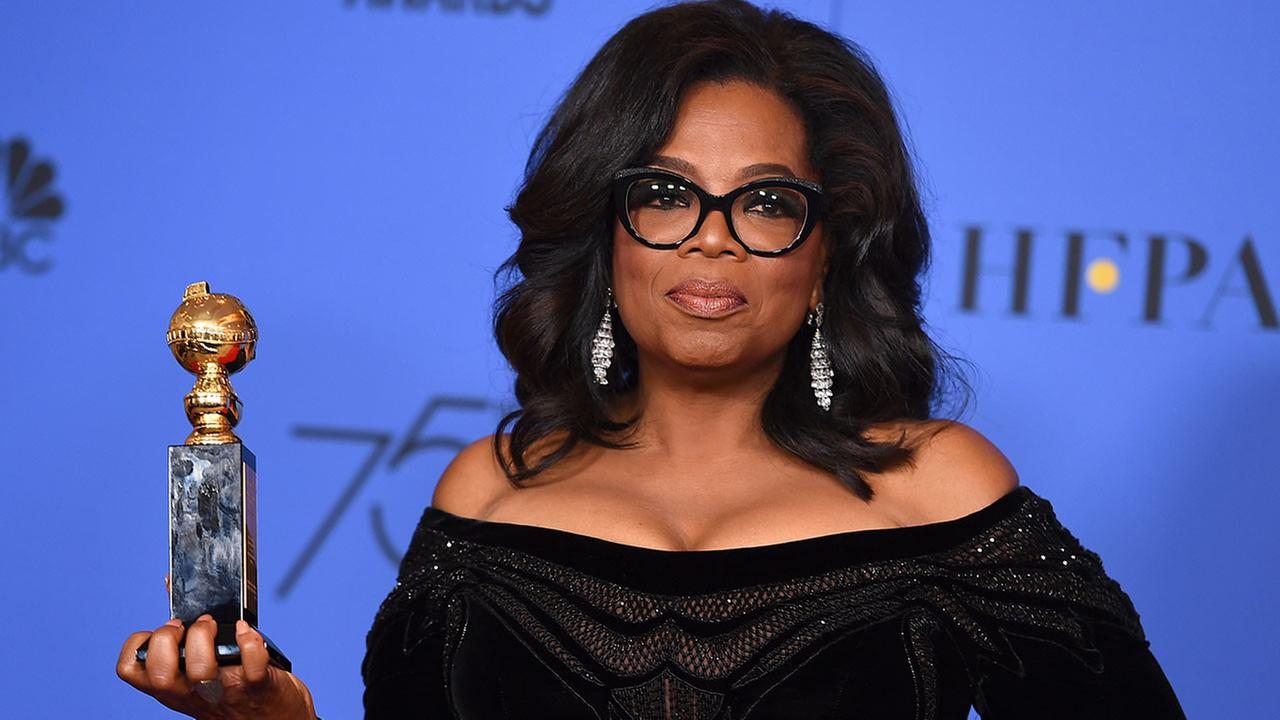 Oprah Winfrey was honored with a lifetime achievement award at the Golden Globes and told the audience speaking your truth is the most powerful tool you all have.