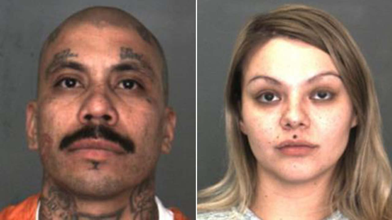 James Baltierra, 32 of Colton, and his girlfriend Sylvia Smith, 29 of San Bernardino, are seen in photos released by the San Bernardino Police Department.