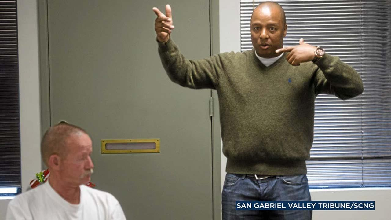 Deputy Kenneth Collins is seen in a photo by the San Gabriel Valley Tribune.