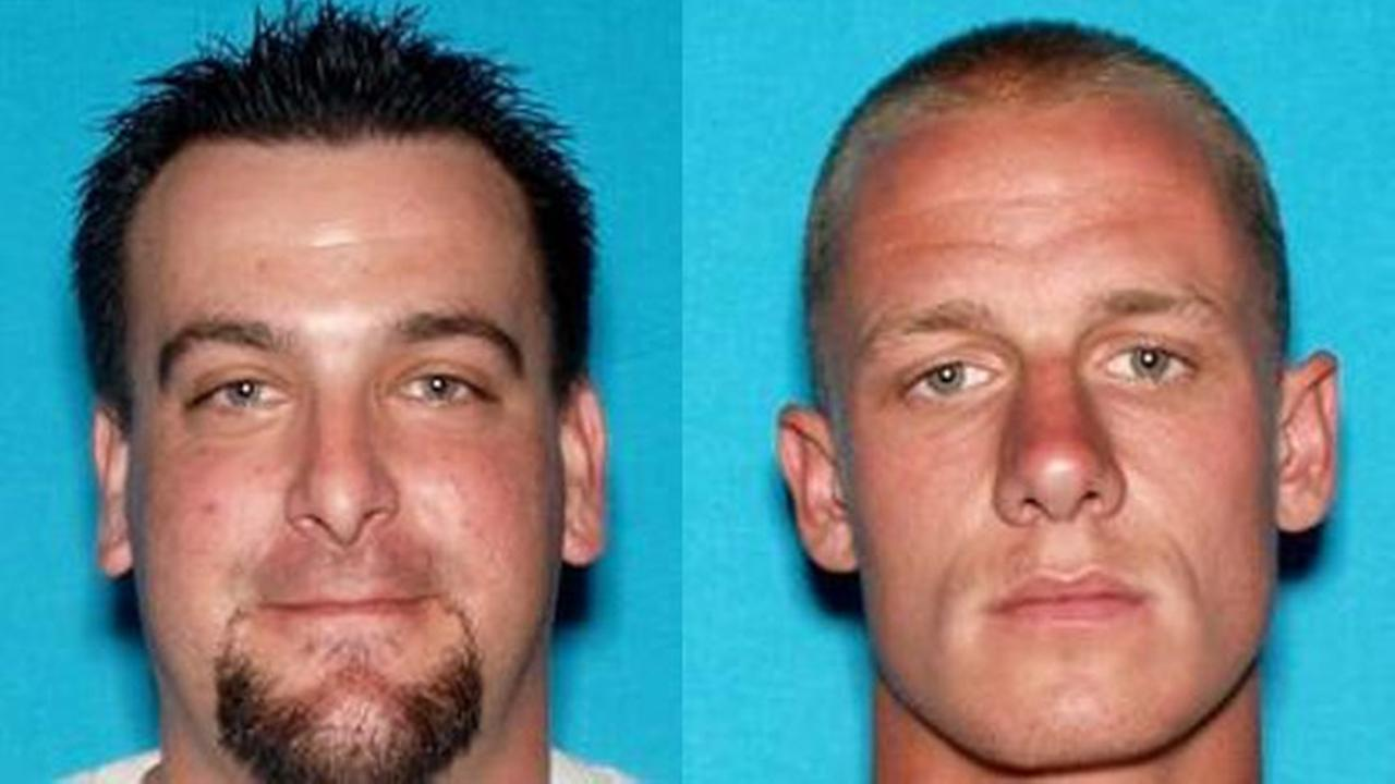 Joel Kenneth Alexander, 32, and Robert Michael Ball, 25, are seen in the booking photos above.