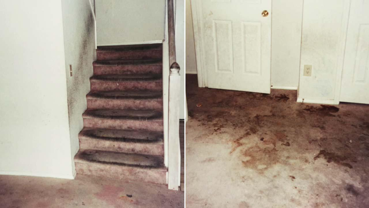 Photos show the inside of a home in Fort Worth, Texas, where the Turpin family once lived.