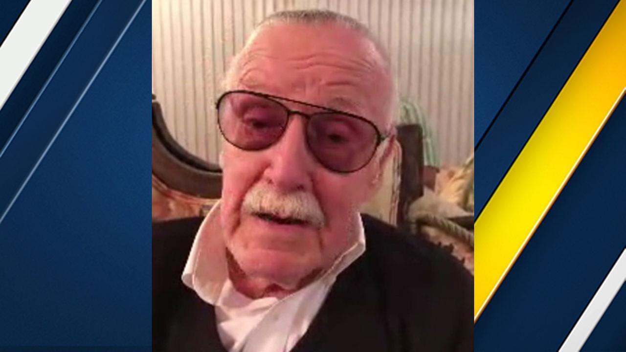 Marvel icon Stan Lee spoke with Eyewitness News via Skype on Thursday, Feb. 1, 2018.