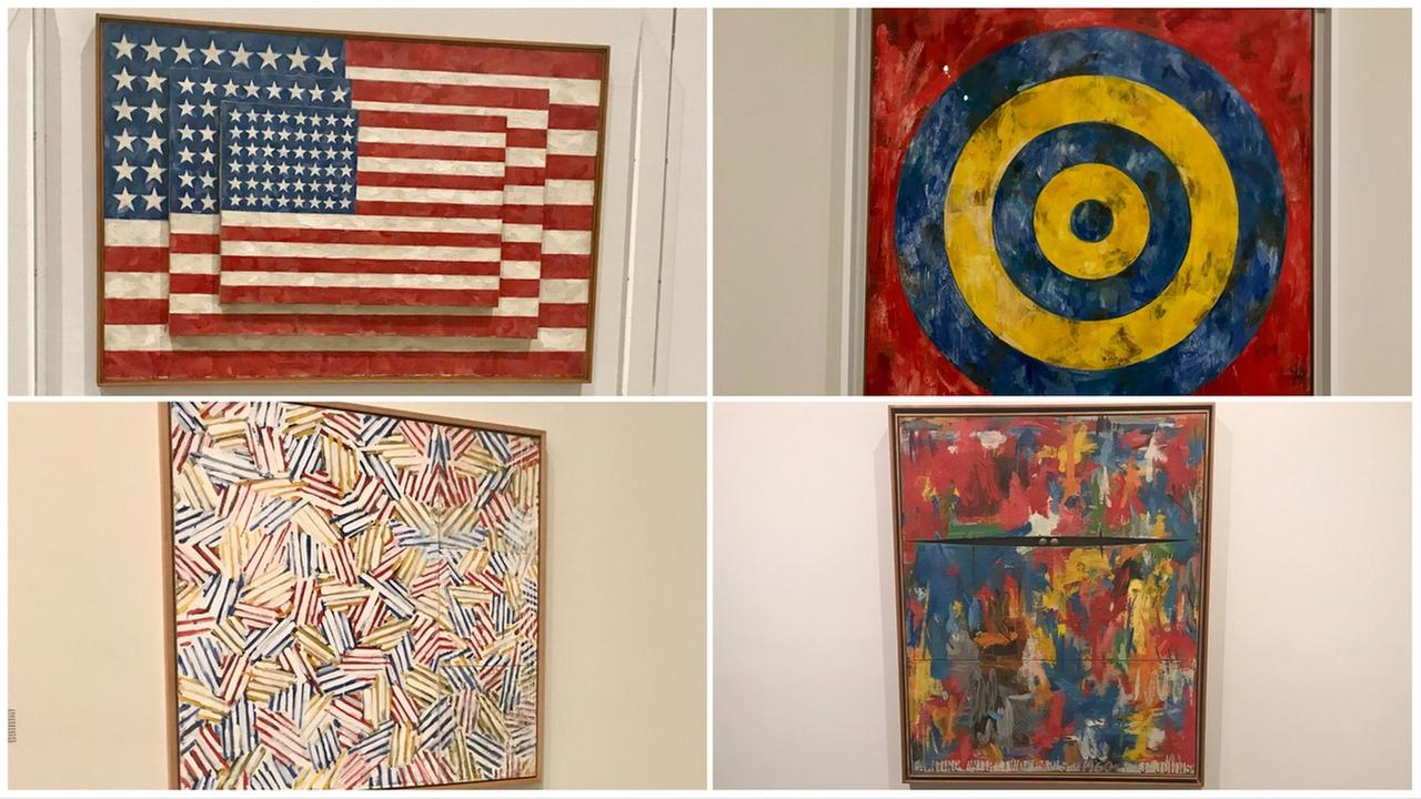 The Broad is hosting an exhibit of work by artist Jasper Johns.
