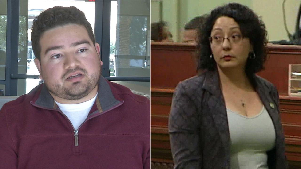 Former legislative staffer Daniel Fierro says Assemblywoman Cristina Garcia groped him at a softball game in 2014.
