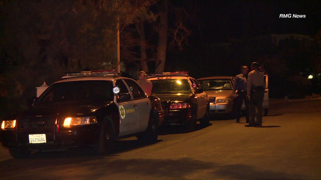 Los Angeles County Sheriffs detectives were investigating a possible murder-suicide in Westlake Village.