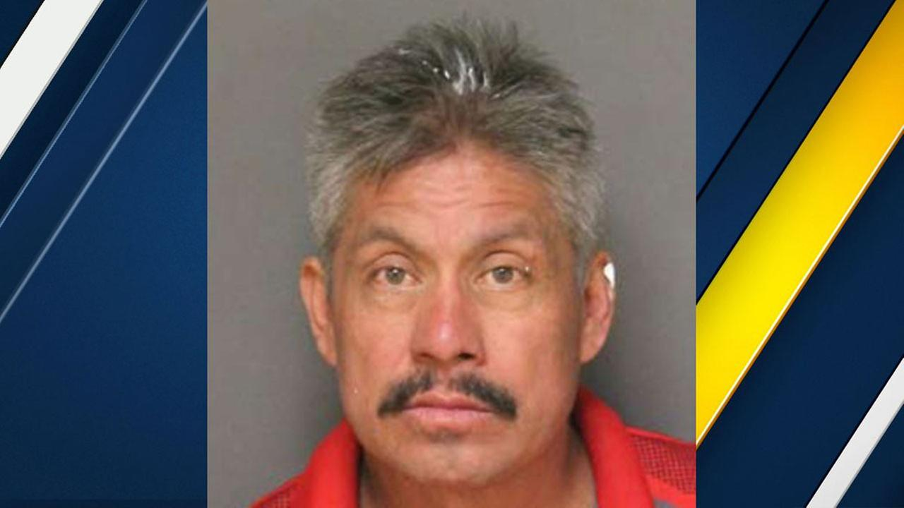 Maximino Delgado, 53, was charged with murder after he allegedly struck and killed a 6-year-old girl playing on a sidewalk in Fullerton.