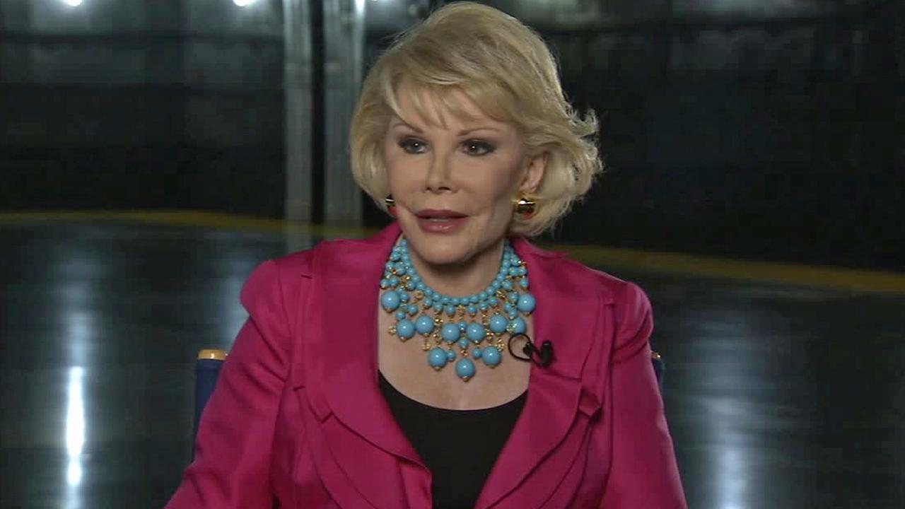Joan Rivers is seen in this file photo from June 2010.