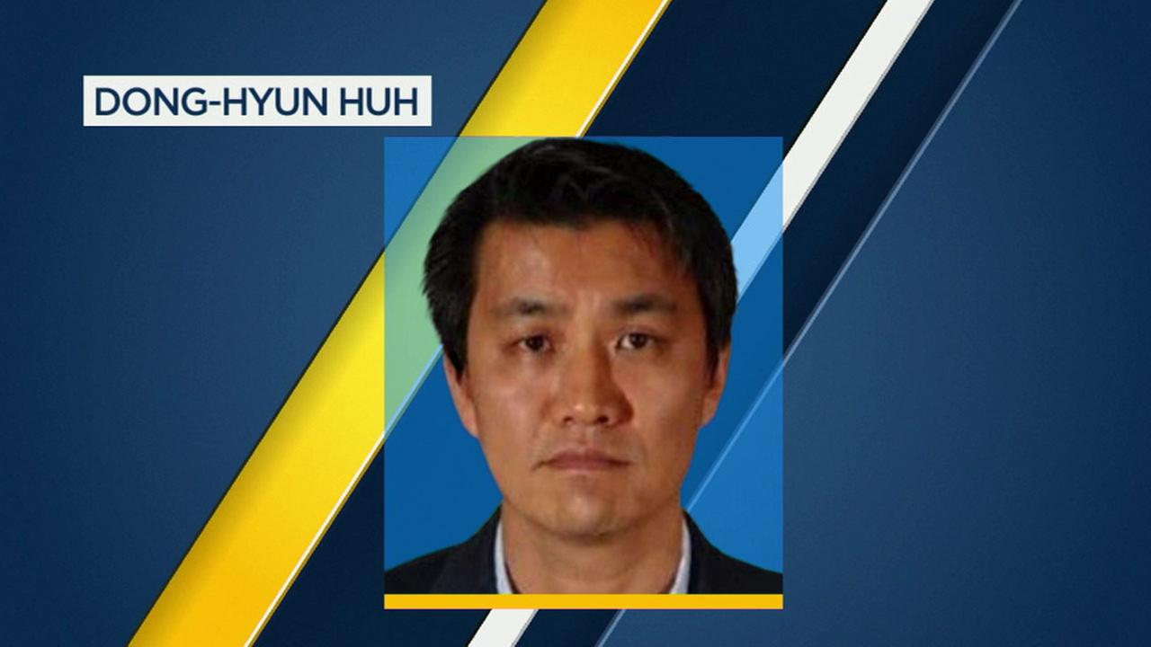 Dong-Hyun Huh of Norwalk, former professor and dean at Grace Mission University in Fullerton, is accused of indecent exposure.