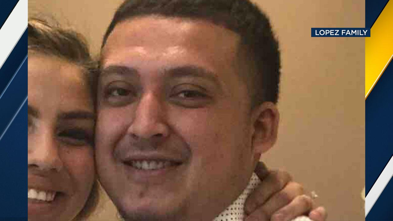 Christopher Lopez, shown in this undated photo, was killed when a boulder crashed through the windshield of the car he was riding in Tuesday, March 13.