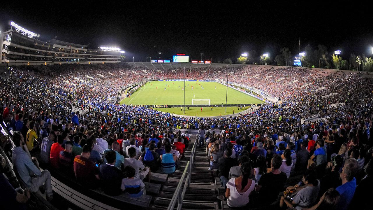 The Rose Bowl hosted an international soccer match on July 27, 2016 between Chelsea Football Club and Liverpool FC for the International Champions Cup.