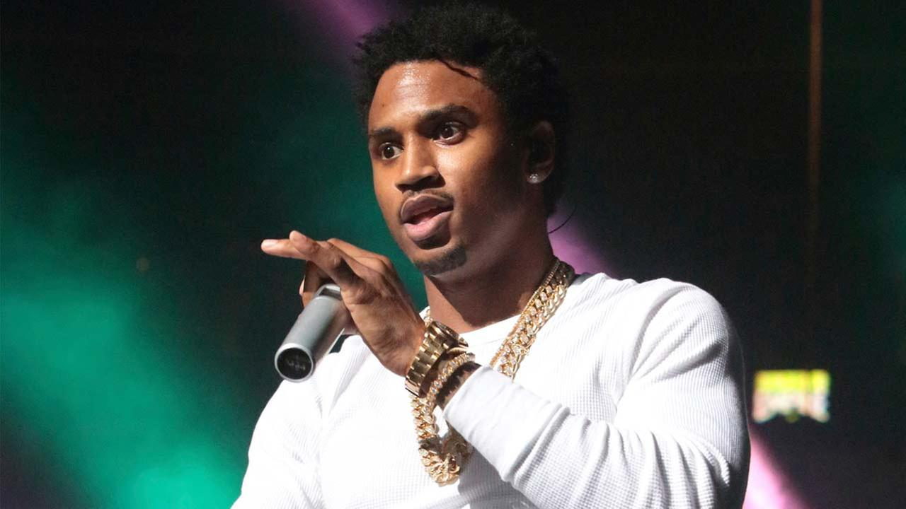 This Oct. 28, 2016 file photo shows Trey Songz performing during the Power 99 Powerhouse 2016 in Philadelphia.