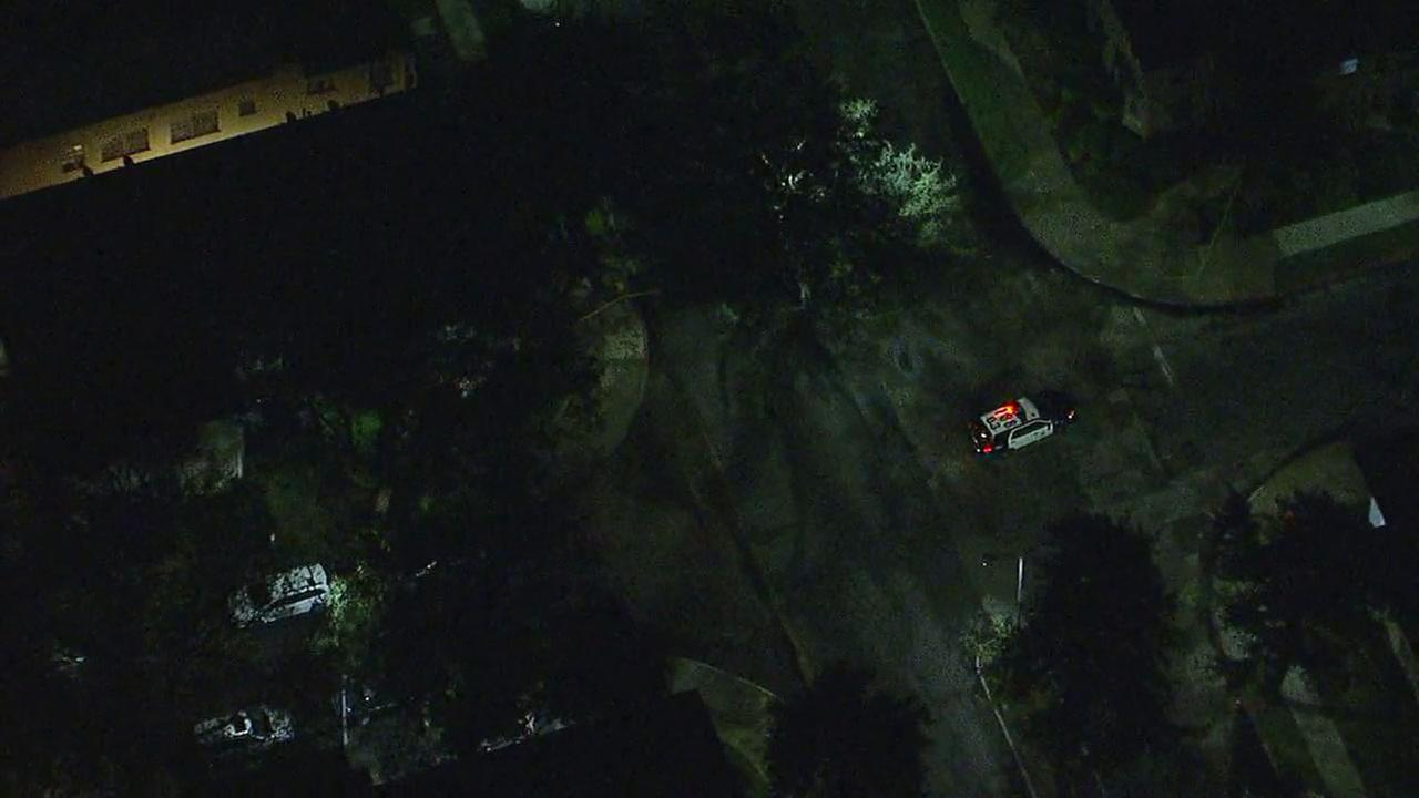An LAPD bomb squad responded to a home in Leimert Park after a person reported receiving a package from the Austin area from an unknown sender.